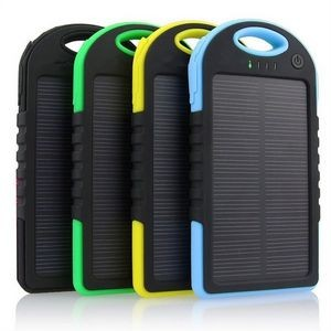 Solar Power Bank - 4000 mAH with carbineer UL certified