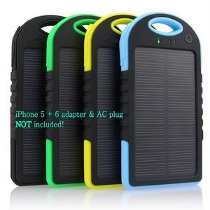The most popular Solar Power Bank - 4000 mAH with carbineer UL certified